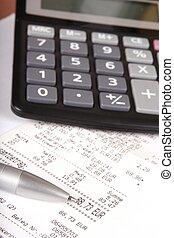 calcolatore, concetto, affari
