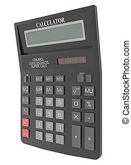 calcolatore, nero