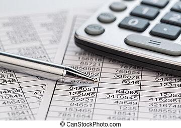 calcolatrici, e, statistk