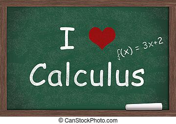 calcul, amour