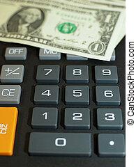 calculadora, e, momey