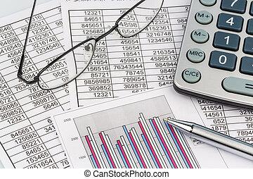 calculadora, e, statistk