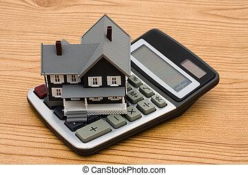 calculadora, hipoteca
