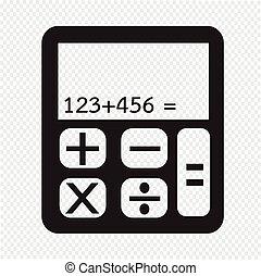 calculadora, icono