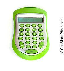calculadora, verde