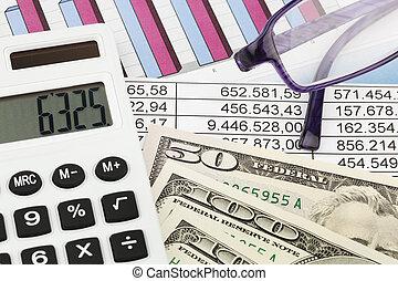 calculadora, y, figuras