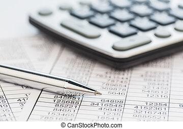 calculadoras, e, estatística