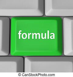 calcular, figura, botão, solução, tecla computador, fórmula, problema
