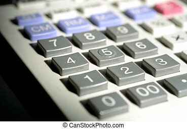 Calculate - Image of a calculator