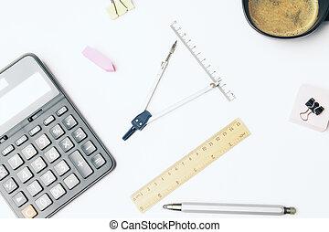calculater, brújulas