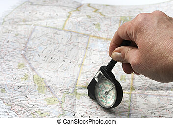 Calculating route with distance meter