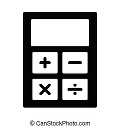 calculation glyph icon