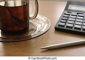 Calculations for a cup of tea