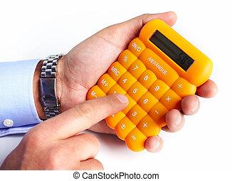 calculator., 손