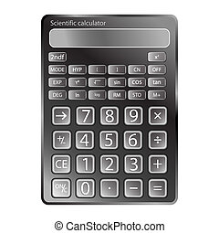 calculator against white