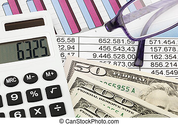 Calculator and figures - A calculator and various statistics...