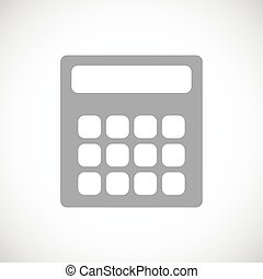 Calculator black icon