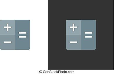 Calculator (calc) icon - Vector
