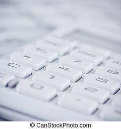 calculator close up
