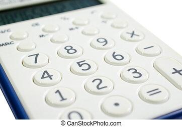 calculator - closeup pad number