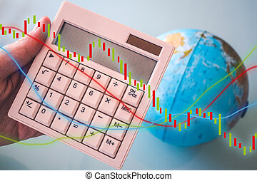 Calculator, economy and the world