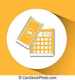 calculator finance dollar