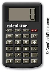 calculator., financieel