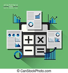 Report graphs represent data diagram and information report graphs calculator graphs diagram chart finance statistics data analytics ccuart Gallery