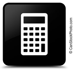Calculator icon black square button