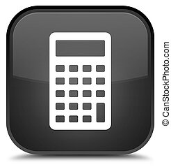 Calculator icon special black square button