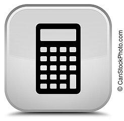 Calculator icon special white square button