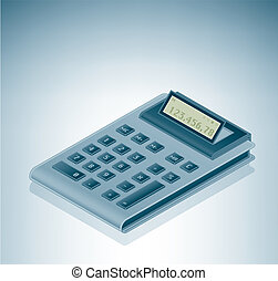 Calculator is a part of the Isometric 3D Computer Hardware...