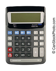 calculator isolated on white - Calculator isolated on white...