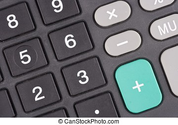 Calculator Keypad - A close up shot on calculator keypad.