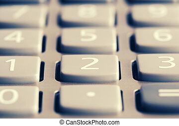 Calculator keypad