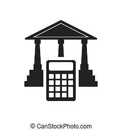 calculator money financial item