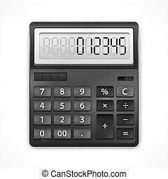Calculator on white