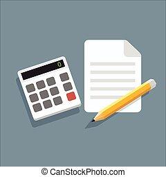 Calculator Pencil Icon