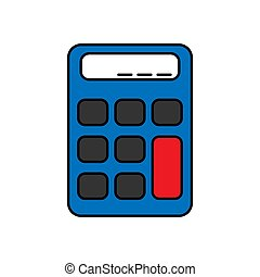 calculator vector design template illustration