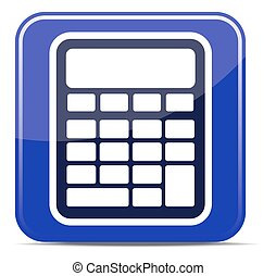 Calculator. Vector illustration