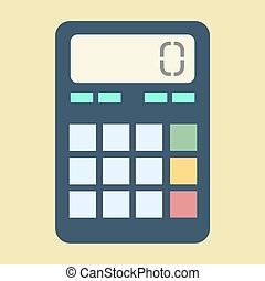 Calculator vector illustration