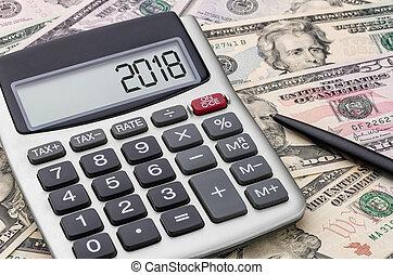 Calculator with money - 2018