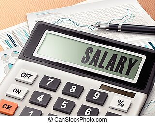 Calculator With The Word Salary  Salary Calculator