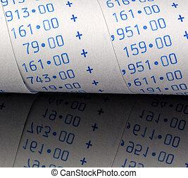 calculatrice, arithmétique, bande