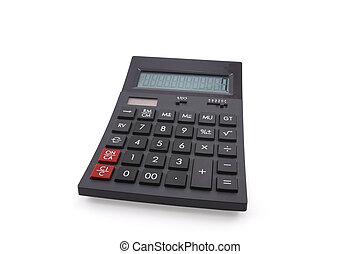 calculatrice, fond blanc