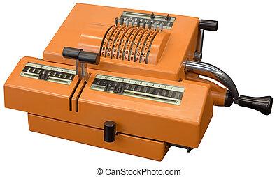 calculatrice, vieux