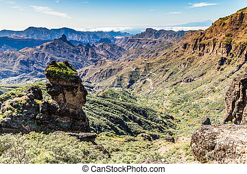 Caldera of Tejeda - Gran Canaria, Spain