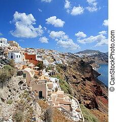 Caldera, Oia, Santorini, Greece