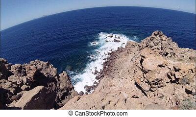 Caldera, Santorini island