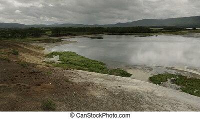 Caldera Uzon on territory of Kronotsky Nature Reserve....